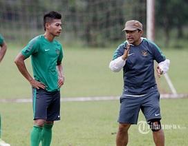 U23 Indonesia vẫn chuẩn bị cho SEA Games 28 bình thường