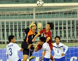 Tuyển nữ Việt Nam đánh bại Myanmar
