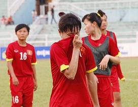 Giọt nước mắt nức nở của các cô gái tuyển Việt Nam