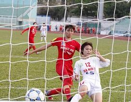Hà Nội 1 tái chiếm ngôi đầu giải bóng đá nữ vô địch quốc gia 2015