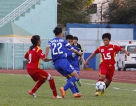 TPHCM đòi lại ngôi đầu giải bóng đá nữ vô địch quốc gia 2015