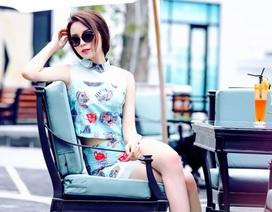 Hoa hậu Kỳ Duyên trẻ trung xuống phố