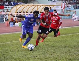 FLC Thanh Hóa và B.Bình Dương gặp khó ở cuộc đua vô địch