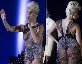 """Loạt trang phục biểu diễn hở """"bạo"""" của Lady Gaga"""