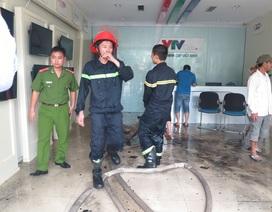 Cháy tại trụ sở Truyền hình cáp Việt Nam chi nhánh miền Trung