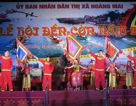 Ngàn người chen chân dự đêm khai hội đền Cờn