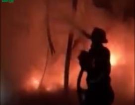 Nghệ An xảy ra vụ cháy lớn thứ 3 trong tháng 3