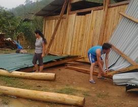 5 người bị thương bởi mưa đá kèm gió lớn