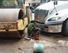Một phụ nữ bị tông chết khi đang rửa xe lu