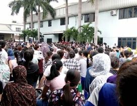 Nghệ An: Hơn 2.500 công nhân Công ty TNHH Matrix nghỉ việc đòi quyền lợi