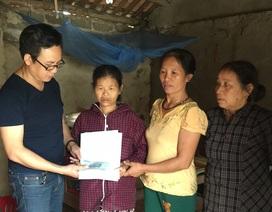 Gần 70 triệu đồng đến với hai hoàn cảnh nghèo khó xứ Nghệ