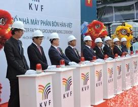 Tập đoàn Taekwang – Huchems tổ chức Lễ động thổ xây dựng nhà máy sản xuất phân bón NPK tại Việt Nam