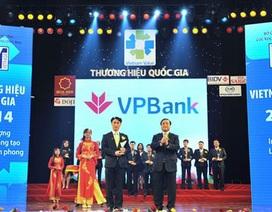 VPBank lần thứ 2 liên tiếp đạt Thương hiệu Quốc Gia