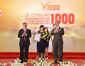 Vingroup là doanh nghiệp tư nhân nộp thuế lớn nhất Việt Nam 2014