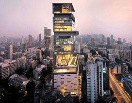 """""""Mốt"""" nhà cao cửa rộng của người giàu Ấn Độ"""