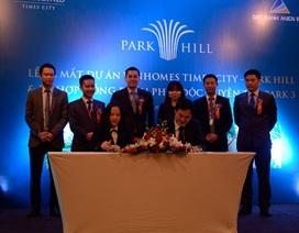 Đất Xanh miền Bắc độc quyền phân phối tòa căn hộ đẳng cấp Park 3 - Vinhomes Times City - Park Hill