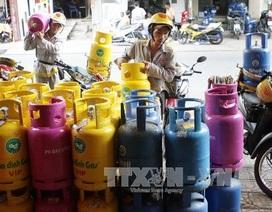 Tháng 4/2015, giá gas giảm 4.500 đồng/bình
