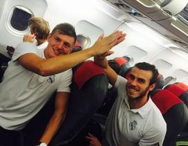 Bale và Kroos làm hòa sau sự cố bắt tay