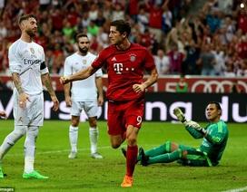Lewandowski lập công, Bayern hạ gục Real Madrid