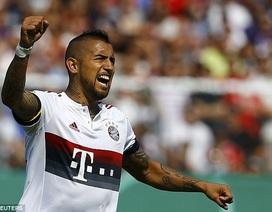 Tân binh Vidal lập công, Bayern thắng dễ ngày mở màn cúp QG Đức