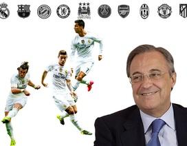 """[Infographics] Real Madrid: Xứng danh """"dải thiên hà"""""""