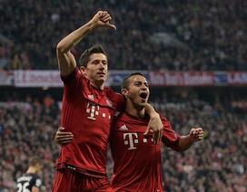 Bayern Munich 5-0 Dinamo Zagreb: Lewandowski tiếp tục bừng sáng