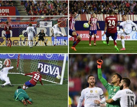 Nhìn lại 90 phút kịch chiến giữa Atletico và Real Madrid