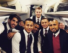 Lo ngại tắc đường, Bayern Munich đến London sớm hơn dự kiến
