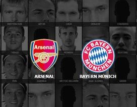 Arsenal - Bayern Munich: Cuộc chiến sống còn