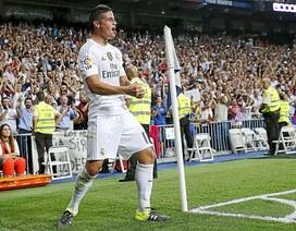 [Infographics] James Rodriguez và tầm ảnh hưởng đặc biệt lên Real Madrid