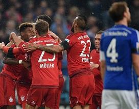 Hạ gục Schalke, Bayern Munich nới rộng khoảng cách với Dortmund