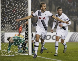 Harry Kane, Benteke đưa Tottenham và Liverpool đi tiếp ở Europa League