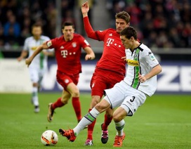Bayern thua sốc trước Monchengladbach