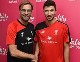 Liverpool có bản hợp đồng đầu tiên dưới triều đại Klopp