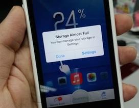 Mẹo lạ tăng bộ nhớ trống cho iPhone