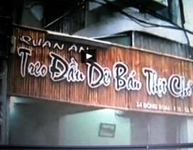 Nực cười tên quán ăn nhậu ở Cần Thơ