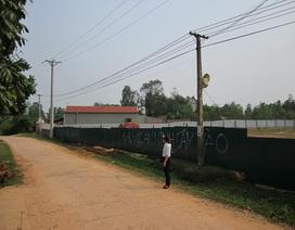 Biến đất ở thành đất lâm nghiệp để trốn bồi thường tại huyện Sóc Sơn