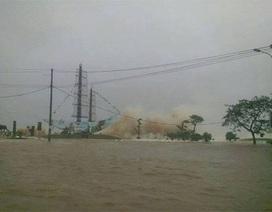 Hải Phòng ngập nặng sau bão