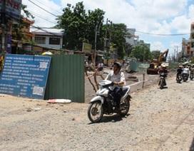 Hạn chế lưu thông trên nhiều tuyến đường Sài Gòn