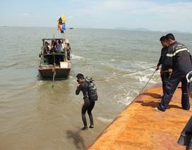 Tìm thấy thi thể nạn nhân cuối cùng vụ lật tàu Hoàng Phúc 18