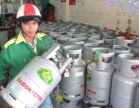 Giá gas tăng 16.500 đồng/bình 12 kg
