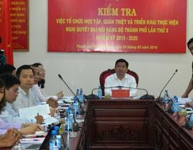 """Bí thư TPHCM Đinh La Thăng: """"Nói, làm những việc dân cần"""""""