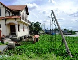 TPHCM dựng bờ kè cứu hơn 100 hộ dân thoát cảnh sạt lở