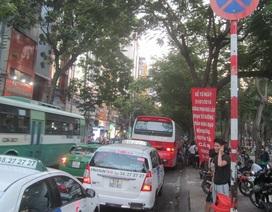 TPHCM: Cấm dừng, đỗ xe ở khu phố Tây