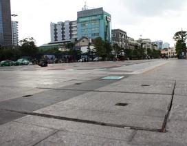 Phố đi bộ Nguyễn Huệ tạm dừng hoạt động để sửa chữa