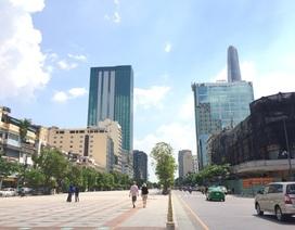 TPHCM: Đề xuất quảng cáo dọc phố đi bộ Nguyễn Huệ bằng đèn led