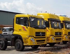 Sắp tăng thuế nhập khẩu xe tải từ Trung Quốc