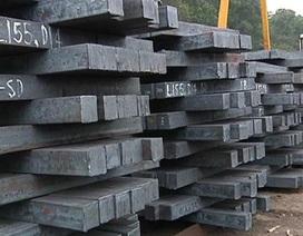 """""""Ông lớn"""" ngành thép lo phá sản vì nhập khẩu phôi thép Trung Quốc tăng đột biến"""