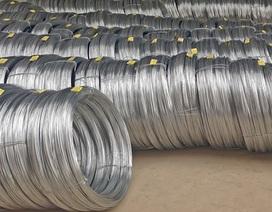 Nhập khẩu thép từ Trung Quốc tăng đột biến