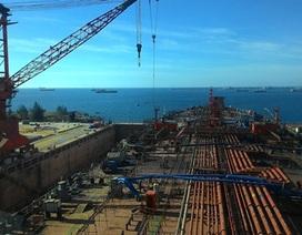 """Phá sản nhà máy đóng tàu Dung Quất là """"phương án cuối cùng"""""""